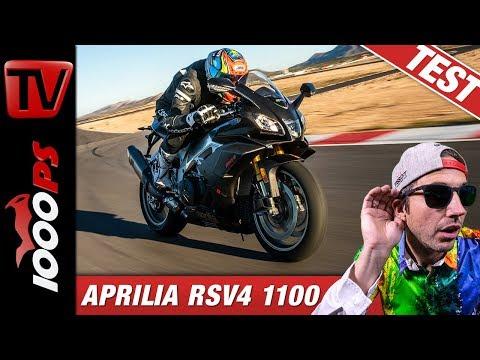 Aprilia RSV4 1100 Factory im Vergleichstest auf der Rennstrecke beim Masterbike 2019