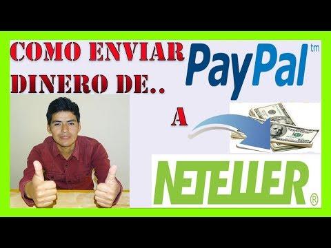 💲 Como Enviar Dinero de PAYPAL a NETELLER Paso a Paso – Actualizado 2020