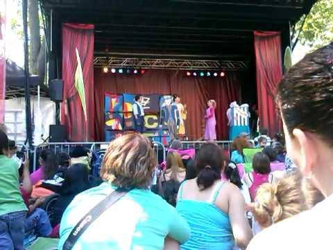 toc toc toc 21 juillet 2013 fête des enfants au parc Jean Drapeau. - YouTube
