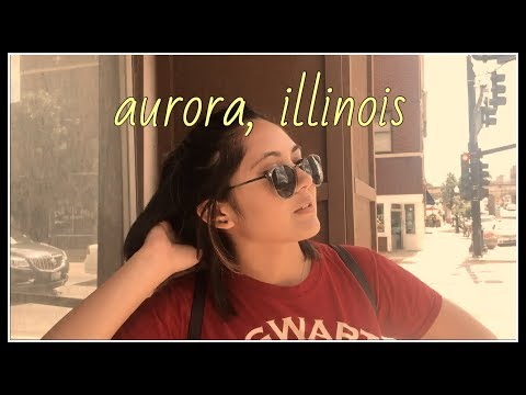 a day in aurora, illinois