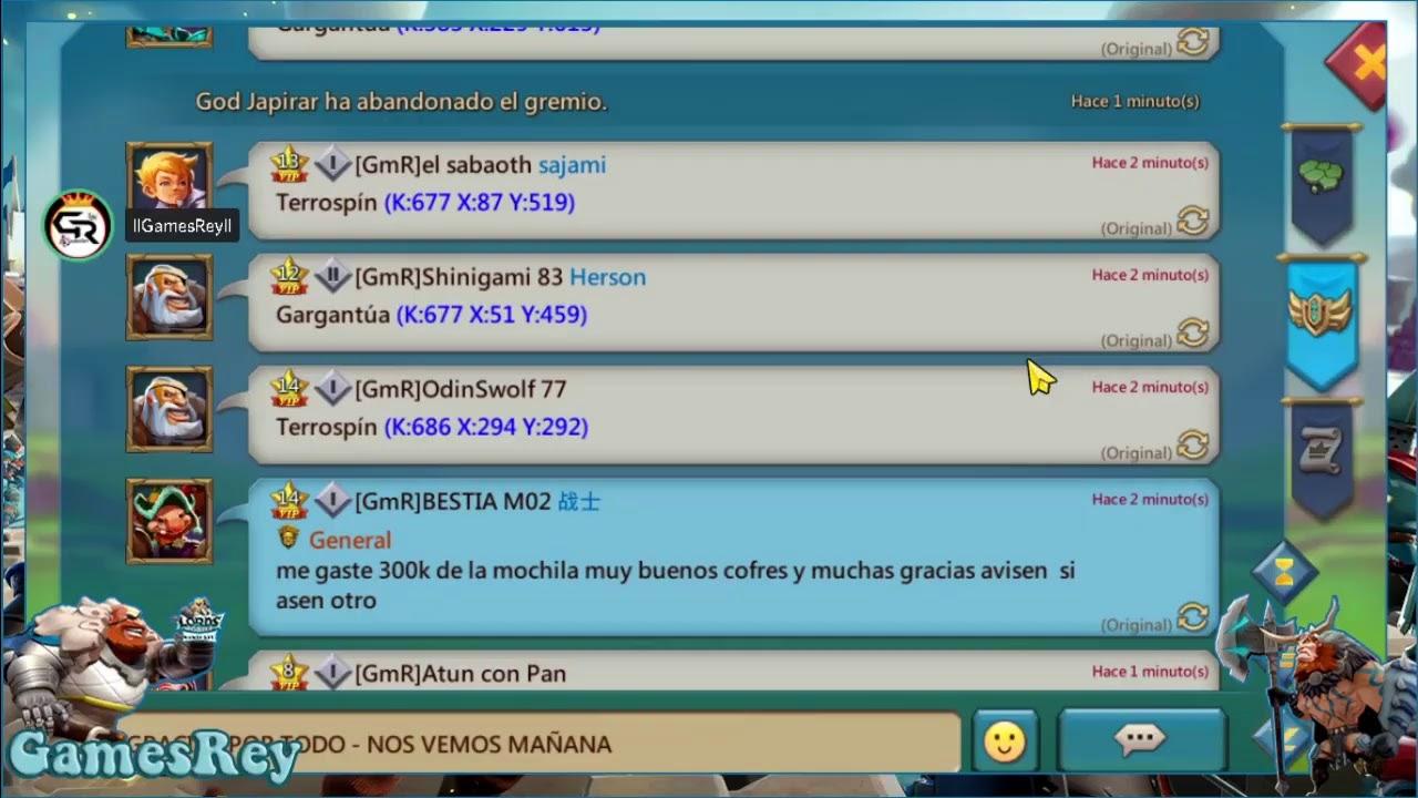 ULTIMA CACERIA LIBRE GOGO XD Lords Mobile