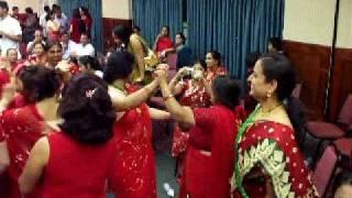 www.nepalmother.com presents Nepali Teej geet dance 2009 Manassas USA part - 14