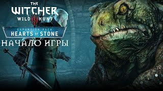The Witcher 3 Hearts of Stone Начало игры (First Minutes PC Gameplay Max Setting 60 FPS)