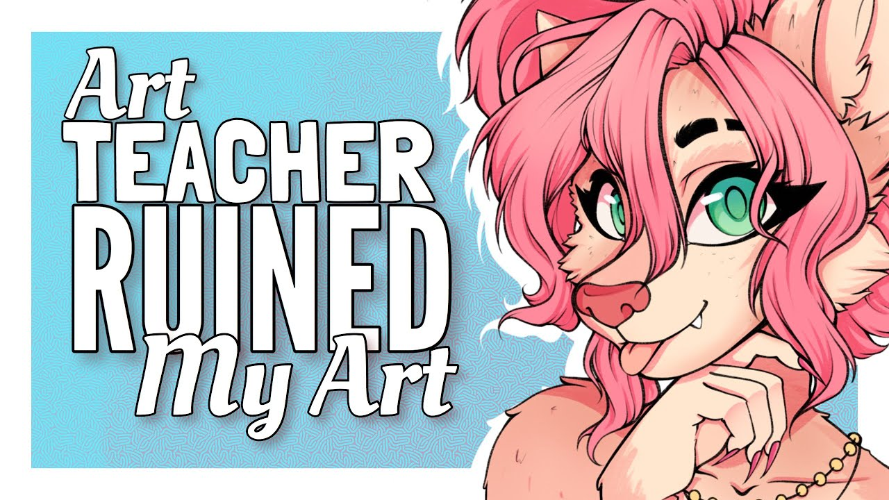My Art Teacher RUINED My Art!! | Storytime Speedpaint