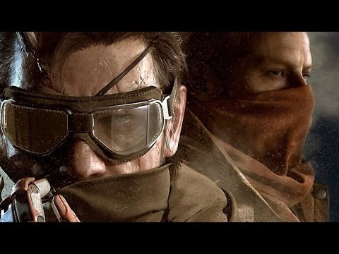 60 FPS Metal Gear Solid 5: The Phantom Pain Mother Base Gameplay Demo - Gamescom 2014