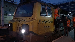 Carlisle - Birthday Bash - featuring classes 37 60 66 68 70 & 90 on 1 Feb 2017(In order to celebrate some birthdays within a group of railway friends it was decided to have a birthday bash on Wednesday 1 February 2017. The resulting clips ..., 2017-02-05T03:11:21.000Z)