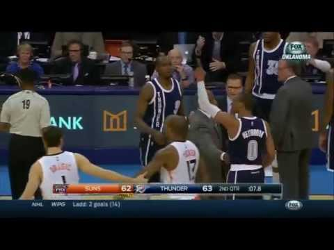 Phoenix Suns vs Oklahoma City Thunder December 31, 2014 Highlights