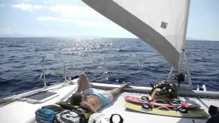 Flisvos Kite Surfing and Catamaran Sailing Trip 2011