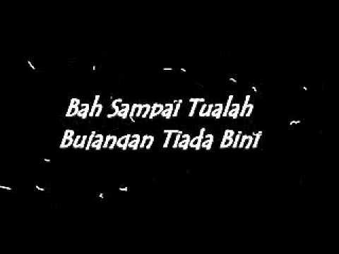Lagu Sabah - Dari Kita Saja Bah Itu