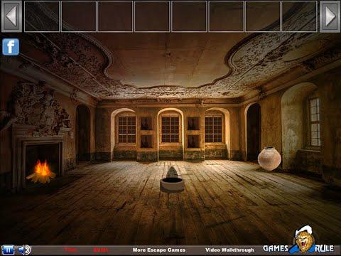 Abandoned royal residence escape - soluce