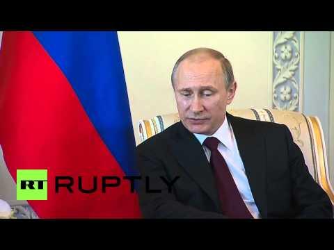 Russia: Putin speaks out against media rumour mill
