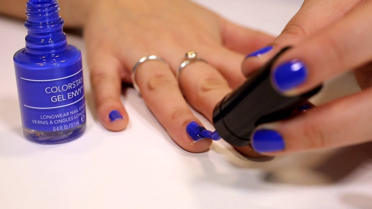 Revlon Gel Envy nail tutorial - YouTube