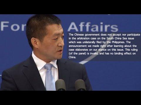China rejects South China Sea arbitration