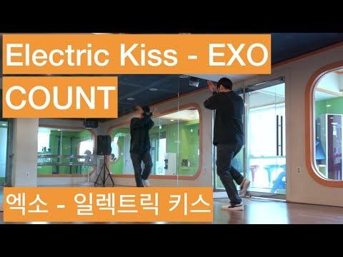 #37 EXO(엑소) - Electric Kiss(일렉트릭 키스)_[count] cover 커버 dance tutorial mirrored 거울 모드 영상 안무
