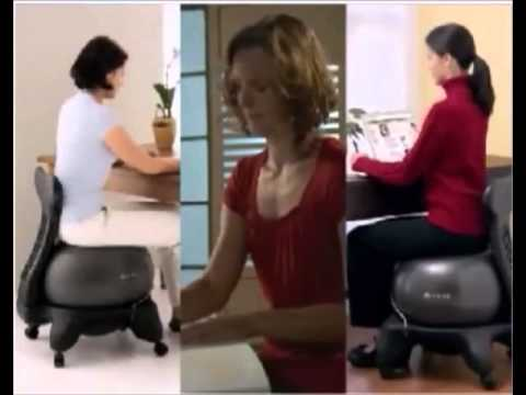 gaiam ball chair strengthen core muscles and improve spinal alignment with ergonomic ball chairs