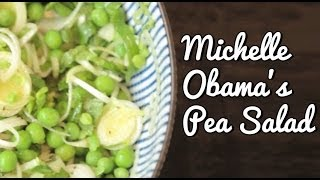 Michelle Obama's Pea Salad Recipe