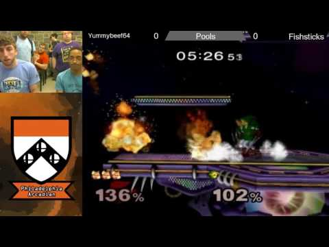 The Philadelphia Arcadian 2017: Fishsticks (Fox) vs yummybeef64 (Link) - Pools