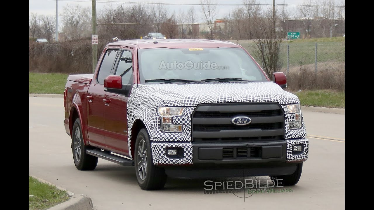Ford F 150 Hybrid Spy Video