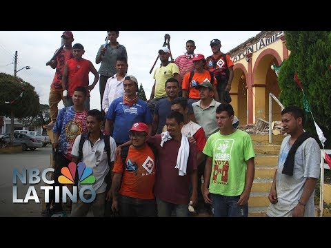 Migrants Find Work Amid The Rubble After Mexico Earthquake | NBC Latino | NBC News