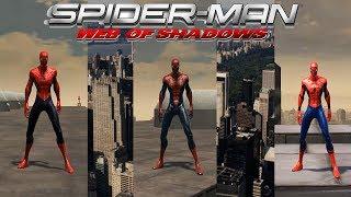 Spider-Man: Web of Shadows - КОСТЮМЫ ИЗ ФИЛЬМОВ