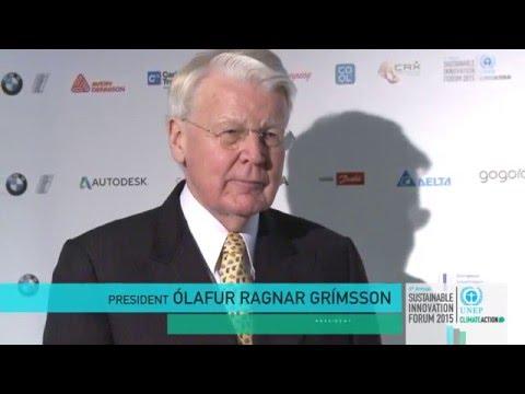 Climate Leader Interview - Ólafur Ragnar Grímsson, President of Iceland