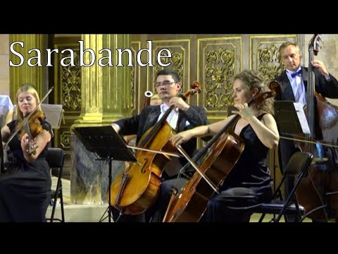 Handel  Sarabande in D minor  wonderful new version