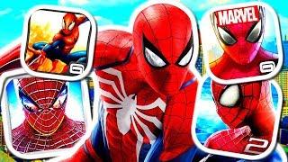 SPIDER-MAN iPHONE GAMES!