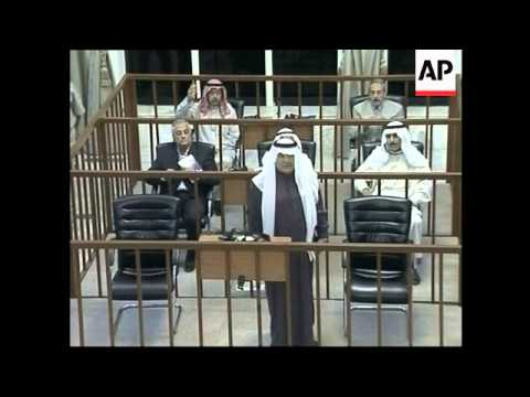 Trial with new judge, lawyers walk out, Saddam ordered to leave courtroom