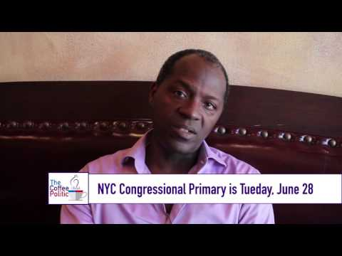 Clyde Williams (D) Discusses his Congressional Campaign 2016
