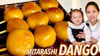 Mitarashi Dango | Kimono Mom's recipe transcription