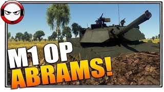 OP-M1! It's just so easy... (War Thunder Gameplay)