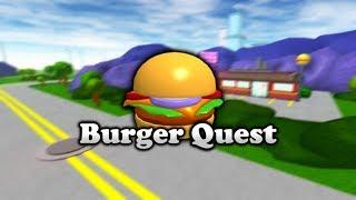 """Roblox - Burger Quest: """"Let's get the job!"""""""