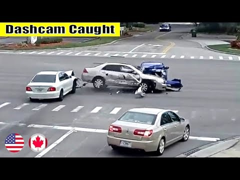 Ultimate North American Cars Driving Fails Compilation - 232 [Dash Cam Caught Video]