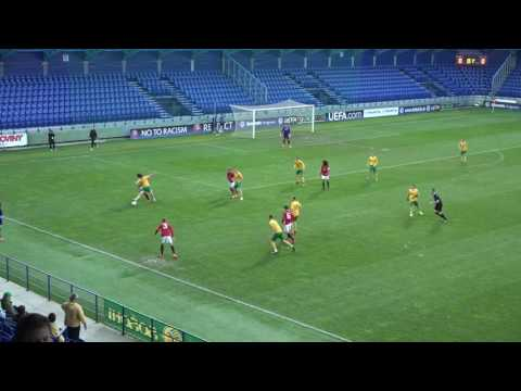 Manchester United U17   MSK Zilina U17 25.10.2016 /Academy ManU  in Slovakia