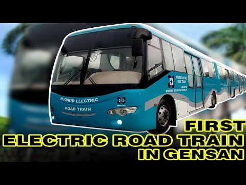 The First Hybrid Electric Road Train in GenSan or the ERT