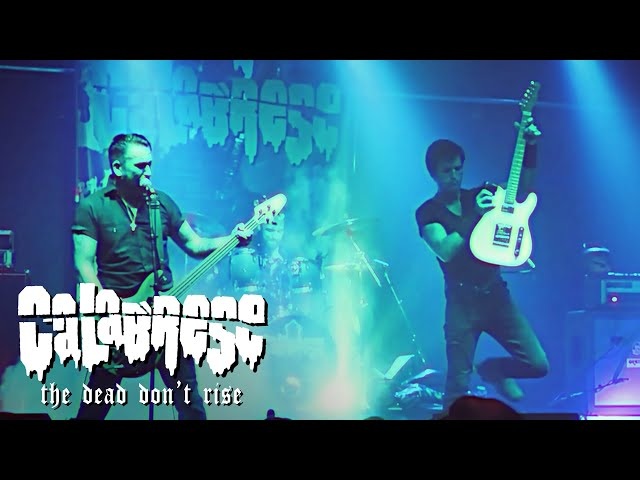 CALABRESE - The Dead Don't Rise | LIVE, RAW & EVIL | Mesa, AZ - 2019