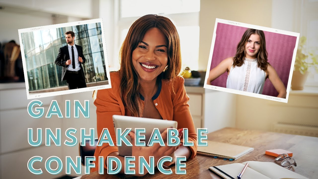 How to build strong confidence - how to build self confidence & self esteem