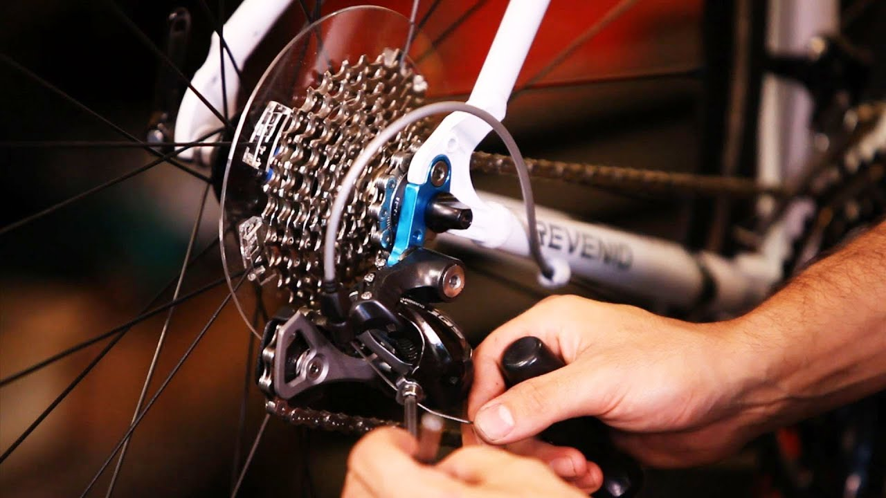 How To Adjust Gears Derailleurs Bicycle Repair Youtube