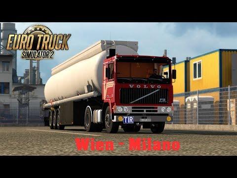 ETS2 1.28 ProMods 2.20 Volvo F12 Wien - Milano