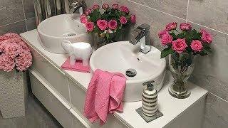 افكار لتزيين حمامات صغيرة المساحة ,  تزيين الحمام ,2018 Small bathroom design ideas💕 💕 💕