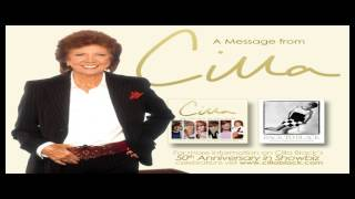 MESSAGE FROM CILLA BLACK - Celebrating 50 Years in the Show Business Today!