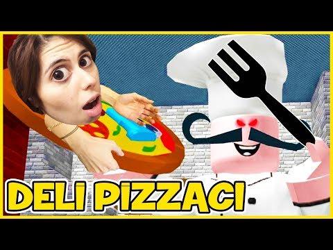 Deli Pizzacı Ve Berberden Kaçış Roblox Dila Kent