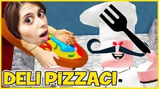Mad Pizzeria e Barber ' s escape Roblox Dila Kent