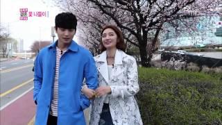 Flower viewing, Jin-woon♥Jun-hee 정진운-고준희 #We Got Married