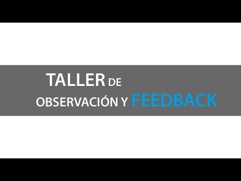 Observación y Feedback