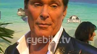 Comedy Central Roast Of David Hasselhoff with Pamela Anderson and Lee Nolin