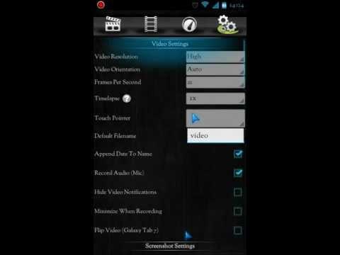 Screencast Video Recorder v3.2a Full APK