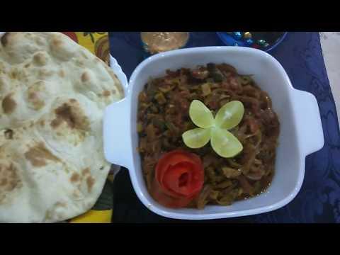 Karela Pyaz Ki Sabzi Recipe By Cooking with Gulnaz Khan