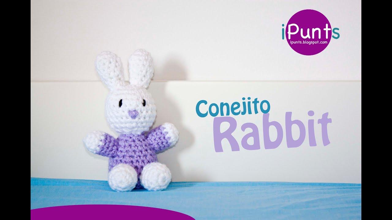 Amigurumis: Conejo Rabbit paso a paso crochet - YouTube