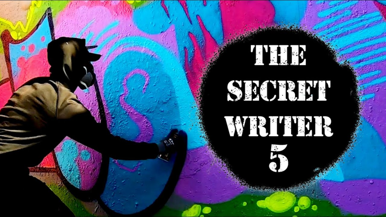 Download THE SECRET WRITER 5 - WITH OLUST [25 Graffiti writers exchanging tags]